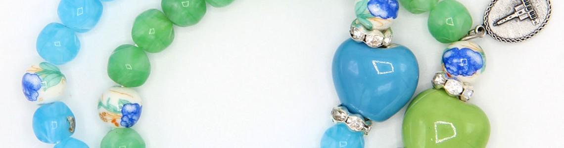Ceramic, Crystal and Stone Bracelets